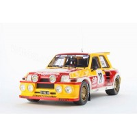 "Otto 1/18 Renault R5 Maxi Turbo ""33 Export"" 1985 OT603"
