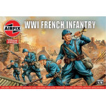 WW1 FRENCH INFANTRY  AIRFIX  00728V