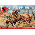 WW1 ROYAL HOUSE ARTILLERY  AIRFIX  00731V