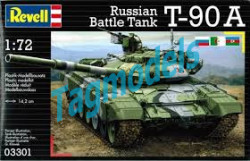 Russian Battle Tank T-90A, Revell 03301