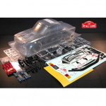 124 RALLY CLEAR BODY WITH ACCESSORIES  EZRL2410