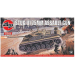 STUG III 75MM ASSAULT GUN TANK  AIRFIX  01306V