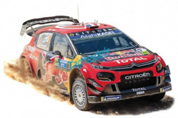 NOREV Citroen C3 WRC # 1 OGIER / INGRASSIA WINNER RALLY MEXICO 2019