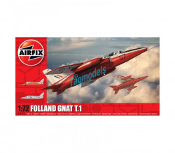 Folland Gnat T.1, 1/72  AIRFIX  2105
