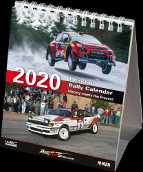 2020 Desktop Rally Calendar - History meets the Present  BOOK 0202017MC
