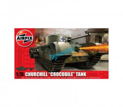 Churchill crocodile tank, 1/76  AIRFIX  2321