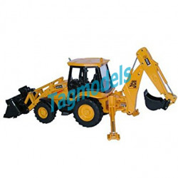 JCB 3CX Centremount Backhoe Loader. Maker: Joal Model No: 299. Scale: 1:25.