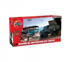 Bedford QLT And Bedford QLD Trucks, 1/76  AIRFIX  3306