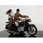 NOREV - BMW - R60 TOUR DE FRANCE 1959 WITH 2X FIGURES. Scale: 1/43 Code: 350053