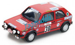 VW GOLF GTI #30 RALLY MONTE CARLO 1977  SPARK S3208