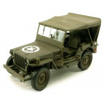 JEEP WILLYS 4X4 W SOFT TOP  CARARAMA  950D-4