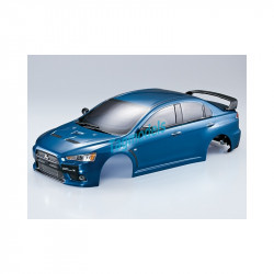 MITSUBISHI LANCER EVOX CLEAR BODY 1:10 - 195MM   KBD48001