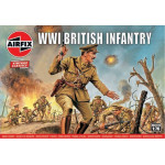 WW1 BRITISH INFANTRY  AIRFIX  00727V
