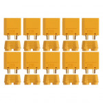 Gold connector | XT90 | 10 plugs  AM-630-10M