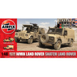 Airfix A06301 British Forces WMIK Land Rover
