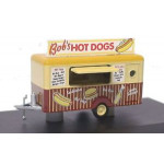 Oxford Diecast Bobs Hot Dogs Mobile Trailer 76TR001