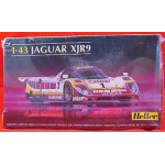 Heller Jaguar Xjr9 Plastic Model Kit 1/43 Scale 80108