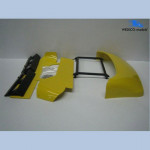 WEDICO 802 ROOF AND SIDE SPOILERS SCANIA CR19 YELLOWN