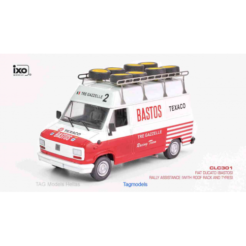 Toys & Hobbies Diecast & Toy Vehicles FIAT DUCATO RALLY ASSISTANCE BASTOS IXO CLC301 1/43