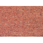 Faller Wall card, Clinker brick HO