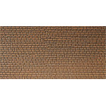 Faller Wall card, Sandstone, red HO