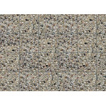 Faller Wall card, Exposed aggregate concrete HO