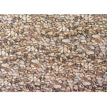 Faller Wall card, Natural stone HO