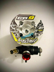 IELASITUNED  GP9 .21 ONROAD 3,5cc STEEL REAR BEARING, SHAFT WITH DLC COATED, HAND TUNED
