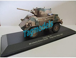 Humber Mk IV (8th Infantry Division (India) - Sangro River Italy 1943) Diecast Armoured Car