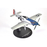Mustang P-51D NORTH AMERCAN GEORGE PREDDY 1944  ATLAS  JR07