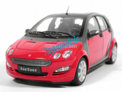 KYOSHO SMART FORFOUR RED