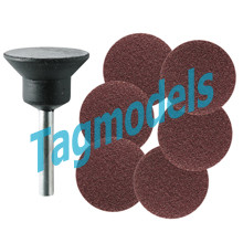M.3210 - Rubber backing pads and sanding discs