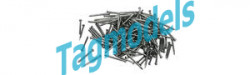 PIKO 55299 Track Nails, Approx. 400 pcs.