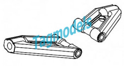 Front Upper Suspension Arm NTC (2)