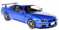Nissan R34 GTR  SOLIDO  S1804301