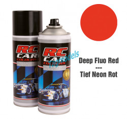 FLUO DEEP RED - 150 ML LEXAN PAINT   RCC1010