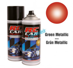 lexan paint - metal red 150 ML  RCC937