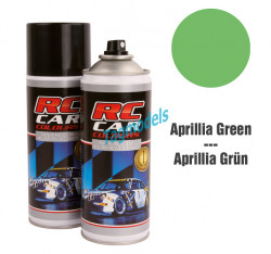 lexan paint - aprilia green 150 ML  RCC944