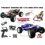 SWORD 1/10 Scale 4WD Electric Monster Truck
