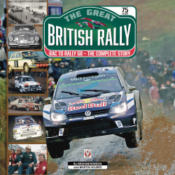 The Great British Rally: RAC to Rally GB: The Complete Story   BOOK 9901020081