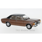 Ford Taunus GXL, metallic-braun/schwarz, 1974  WHITEBOX  WB277