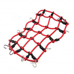 Elastic luggage net (Red)
