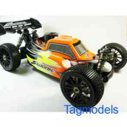 SWORKz Apollo 1/8 Nitro Power Buggy Pro RTR with Prepainted Body  SW940004RFO