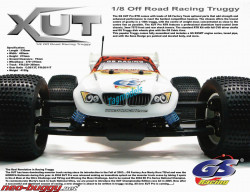 GS XUT RTR 1/8 Truggy