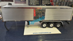 Wedico 314 Container Body for Semi Trailer ,Polished  WITH 733 CHASIS