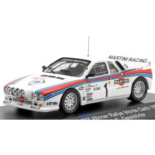 Lancia 037 Martini #1 Winner Rally Montecarlo 1983 Rohrl CMR 1:43 WRC009
