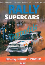 Rally Supercars DVD