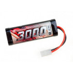 NiMH Battery 3000mAh 7,2V Stick Pack Tamiya Plug  SC3000