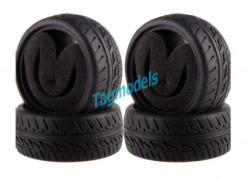 1/10 Tyres with foam insert 4pcs